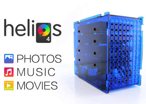 Personal Cloud Storage Systems - The 'Helios4' System Holds Up to Four Hard Drives