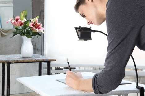 Reflecting Sketch Artist Accessories - The 'NeoLucida XL' Drawing Tool Reflects Images to Your Paper