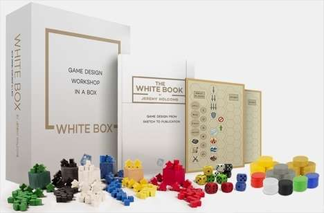 DIY Board Game Kits - 'The White Box' Lets You Create Your Own Board Game Designs