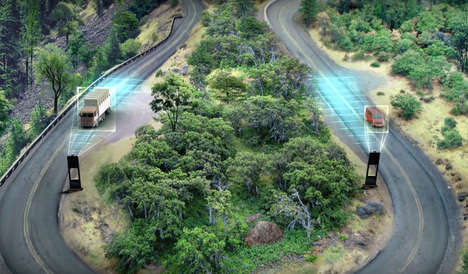 Honking Traffic Sensors - #RoadsthatHonk Uses Smart Road Sensors to Make Hairpin Bends Safer