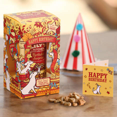 Celebratory Canine Meals - This Dog Birthday Set from Lily's Kitchen Includes Treats and a Card