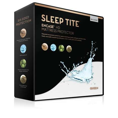 Dust-Deterring Mattress Covers - Malouf's 'Sleep Tite' Encase HD Protector Blocks Out Allergens
