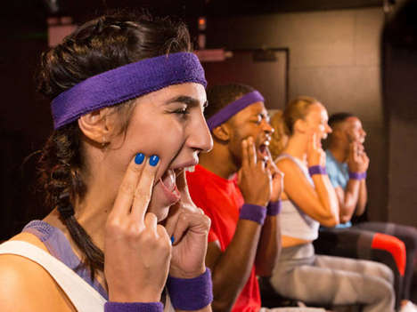 Jaw Workout Classes - Cadbury and 1Rebel are Teaming Up to Offer a Unique Fitness Class