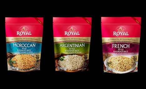 International Flavor Rice Dishes - Royal Authentic Adventures Basmati Rice Side Dishes are Gourmet