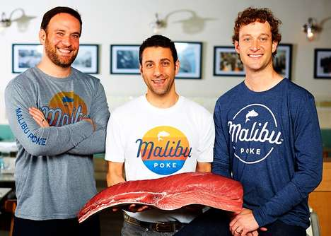 Tech-Savvy Poke Restaurants - 'Malibu Poke' Will Offer Traditional Hawaiian Fare Using Tech