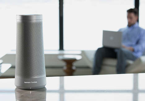 Digital Assistant Speakers - The Harman Kardon 'Invoke' Speaker Features Microsoft's Cortana