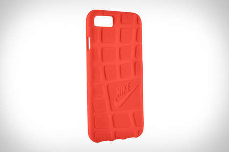 Sneaker Outsole Smartphone Cases - The Nike Outsole iPhone Case Protectors are Made from TPU