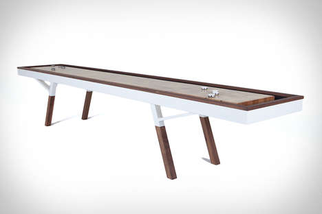 Premium Tabletop Shuffleboard Games - The Woolsey Shuffleboard Table is Made from Quality Materials
