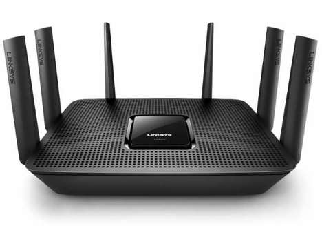 Connection-Streamlining Routers - The Linksys Max-Stream AC4000 MU-MIMO Offers Consistent Coverage
