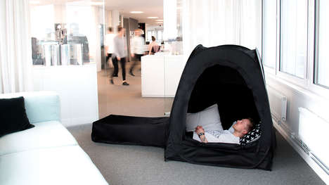Portable Relaxation Pods - The Pause Pod Provides a Private Space for Unwinding Anywhere