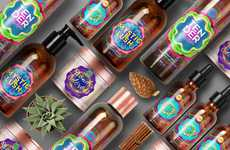 Psychedelic Plant-Based Cosmetics