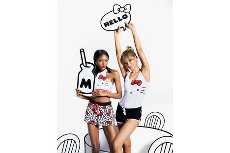 Cartoon Cat-Embellished PJs - This New Target Collection Was Made in Collaboration with Hello Kitty