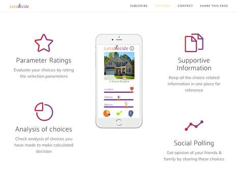Decision-Making Assistant Apps - The 'Letsdecide' App is for Better Personal Decision Making