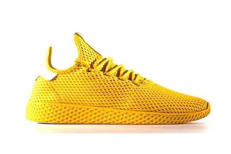 Vivid Celebrity-Made Sneakers - These New Pharrell Sneakers Come in Various Bold Colorways