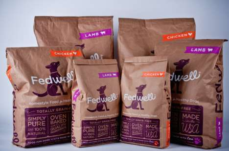 55 Contemporary Pet Food Products - From Vegetable-Based Dog Biscuits to Sophisticated Feline Wines