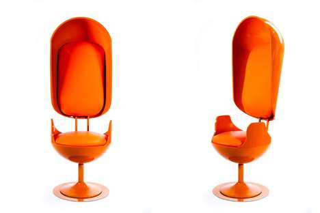 Scientifically Perfect Chairs - 'Your Brain Manufacturing' Uses MRI Results to Design Chairs