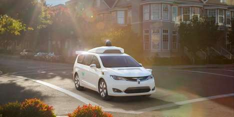 Self-Driving Car Company Collaborations - Lyft and Waymo Have Joined Forces to Make Autonomous Cars