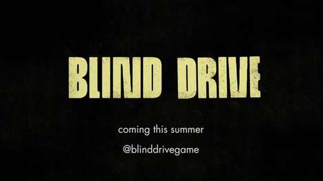 Hearing-Centric Arcade Game - 'Blind Drive' Forces Users to Rely Only on Their Hearing