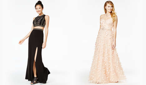 Charitable Prom Dress Campaigns - Macy's 'Say Yes to the Prom' Initiative Helps Underserved Students