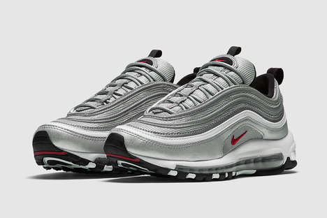 Cult Sneaker Reissues - The Nike Air Max 97 'Silver Bullet' Has Been Relaunched in the US and Europe