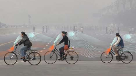 Air-Purifying Bicycles - The 'Smog Free Bike' Generates Clean Air as It's Ridden
