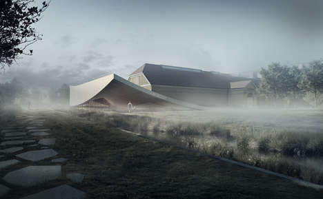 Contemporary Bog Museum Extensions - The Silkeborg Museum is Planning a New Wing