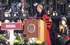 Participating in Democracy - The Elizabeth Warren Commencement Speech Emphasizes Getting Involved