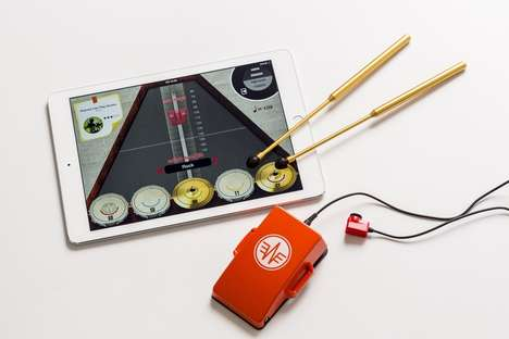 Digital Touchscreen Drum Kits - The ACPD Drum Kits & Game Help Users Learn to Play and More