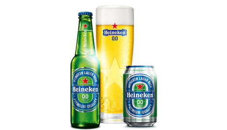 Non-Alcoholic Lagers - 'Heineken 0.0.' is a Low-Calorie, Alcohol-Free Lager