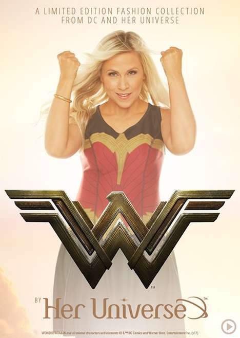 Comic Heroine Clothing Collections - The Her Universe Wonder Woman Fashion Collection is Chic