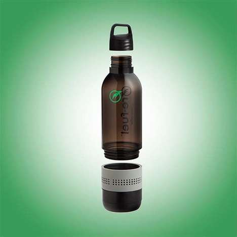 Speaker-Embedded Bottles - The 'Re-Fuel' Speaker Bottle Offers Hydration and Tunes on Demand