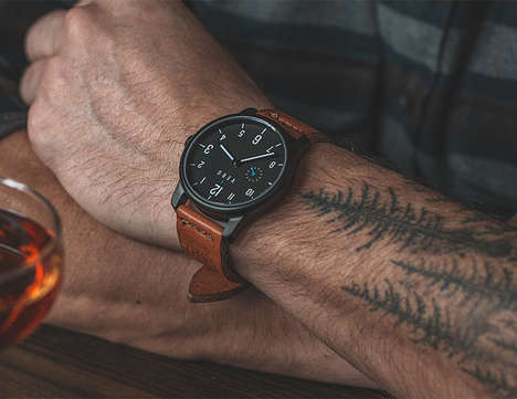 Local Material Timepieces - The VERO Watches are Made Using Locally Sourced Materials in Portland