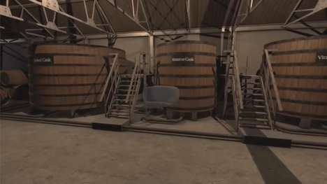 VR Whiskey Tastings - 'Glenfiddich Virtual Infinity' Transports Tasters to a Scottish Warehouse