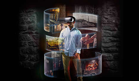 VR Distillery Tours - Beam Suntory is Virtually Transporting Consumers to Bowmore Distilleries