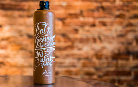 Fermented Malt Spirits - Lucas Bols' Bols Genever 100% Malt Spirit Emphasizes Purity