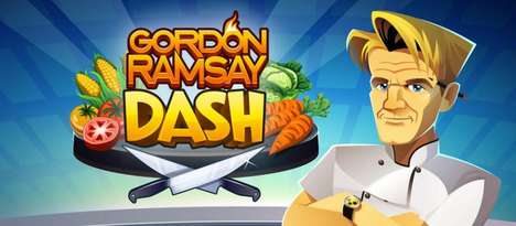 Vulgar Cooking Games - Restaurant Dash with Gordon Ramsay is an iOS App Featuring the Celebrity Chef