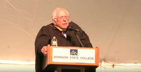 Standing Up for Democracy - Bernie Sanders Considers Inequality in His JSC Commencement Speech