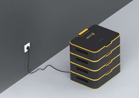 Massive Home-Powering Batteries - The Watts Battery Packs Enough Energy to Power Consumers' Homes
