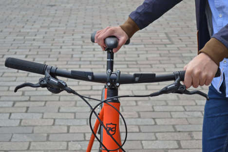 GPS-Connected Handlebars - This Connected Bike Part Prevents Cyclists from Getting Lost