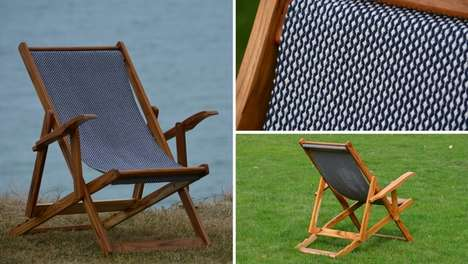 Sustainable Charitable Lounge Chairs - WholeStory Collective's Fabrics are Artisan-Crafted