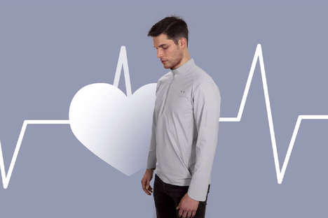 Posture-Correcting Smart Shirts - '10eleven9' Smart Shirts Can Take Your Pulse and Fix Your Posture
