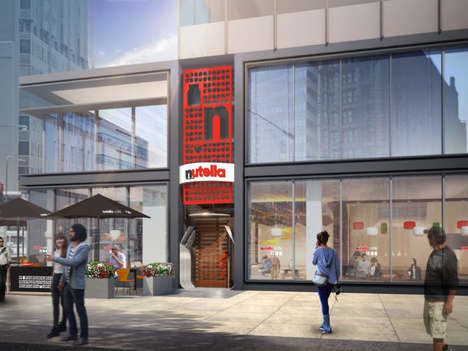 Nut Spread Cafes - The Nutella Cafe is Soon Opening Its Doors in Chicago