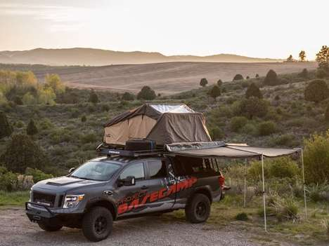 Camp-Ready Truck Concepts - Project Basecamp from Nissan is Designed for Adventures in Overlanding