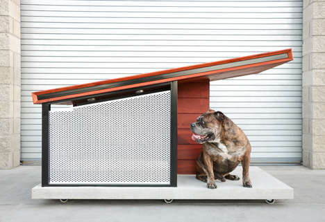 Ultra-Modern Dog Homes - The MDK9 Dog Haus is a Stylish Alternative to Plastic Dog Crates