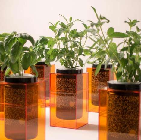 Hydroponic Grow Systems - The Futurefarms Spacepot is Beautifully Simple