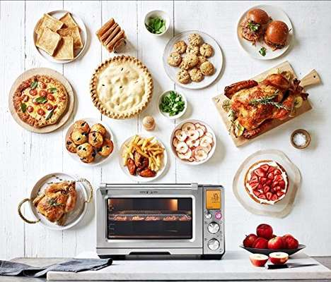 Air-Frying Smart Toaster Ovens - The Breville Smart Oven Air Dehydrates and Air-Fries Food