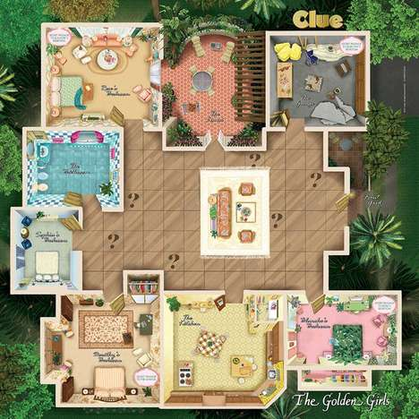 TV-Themed Board Games - 'Clue: the Golden Girls' is a Limited Edition of the Popular Board Game