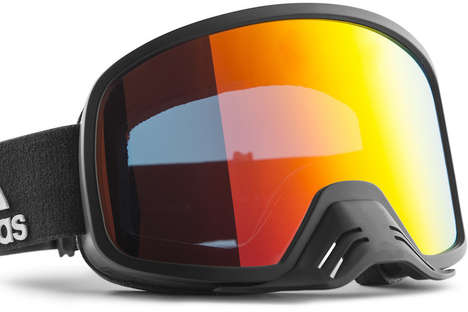 Durable Dirt Biking Goggles - The Adidas Backland Dirt Goggles are Based Off of Alpine Goggles