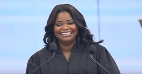 Knowing Your Self Worth - Octavia Spencer's Commencement Speech Congratulates New Grads