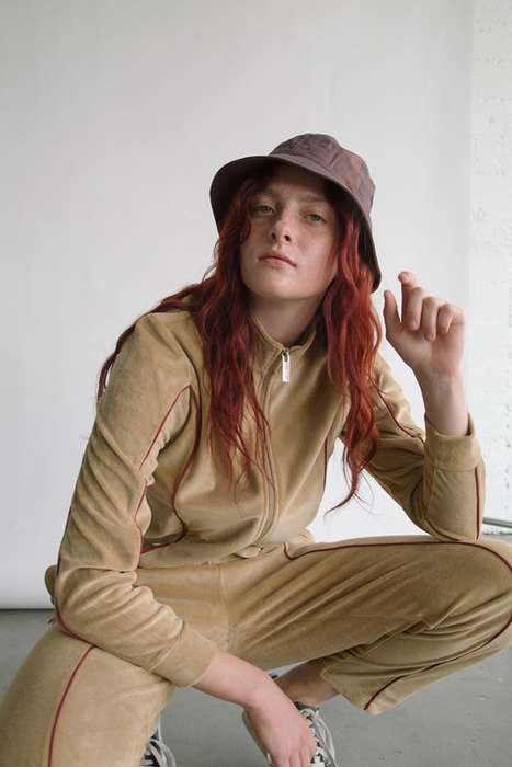 Retro Toned-Down Streetwear - The New Stussy Women's Collection for Summer is Simple and Lightweight